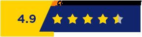 4.9 Customer Satisfaction Rate